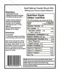 Baking Powder Biscuit Mix Label
