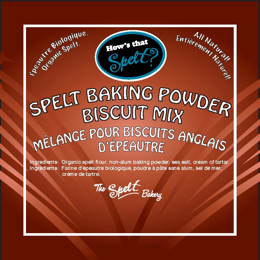 labels for baking powder biscuit mix 4×4 ! #1pdf